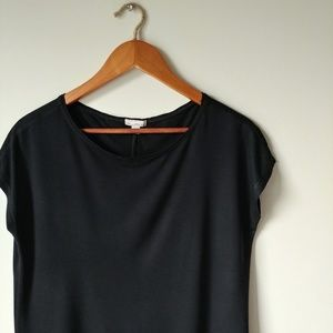 GAP▪Black Cap-Sleeve Tee